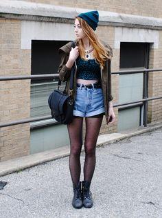 Rock Chic Street Style (6)