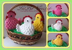 Articles similaires à Fait à la main coquetiers, cache-oeufs, Crochet Pâques poule, poussins, poule, l'oeuf de Pâques chasse, cadeau de Pâques sur Etsy