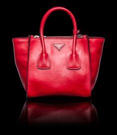 My Bag Wishlist on Pinterest | Prada, Leather Totes and Bright Yellow - Prada tote baltic blue