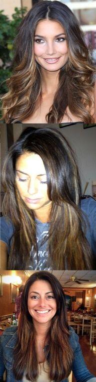 Glitter Pill – Ombré Peek-a-boo Highlights Part II...peekaboo highlights! Bring to salon!
