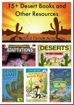 WARM UP TO A DESERT UNIT STUDY 15+ Desert Books and other Resources! #Unitstudy #homeschool