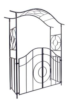 Achla Designs Tuscany Arbor with Gate -- Check out the image by visiting the link.
