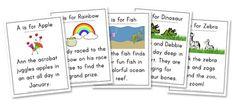 Letter Hunt for kindergarten word works