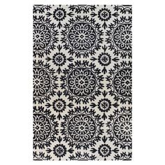 I pinned this Lilly Rug in Black from the Demir Designs event at Joss and Main!