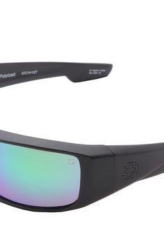 9c2d2829fd9 Spy Optic Cyrus (Black Happy Grey Green) Sport Sunglasses - Spy Optic