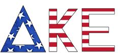 Star Spangled Fraternity #Deltakappaepsilon #dke #America