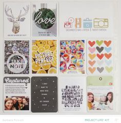 Studio Calico Copper Mountain full reveal #projectlife #scrapbook