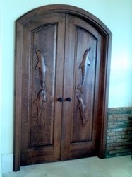 """Did you say """"can I have dolphins on my doors?"""" At nsdmill.com you can have what ever you want."""