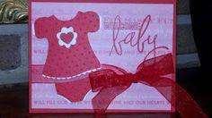 Baby card--Cricut New Arrival