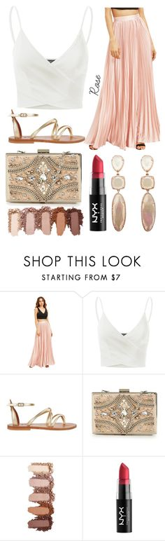 """""""beach outfit"""" by aletraghetti on Polyvore featuring moda, Doublju, K. Jacques, Forever Unique y Forever 21"""