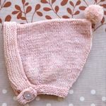 35 knitted hats for baby.