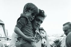 Johnny Cash with son John Carter Cash