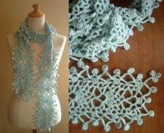 雨粒ストールの作り方|編み物|編み物・手芸・ソーイング|ハンドメイド、手作り作品の作り方ならアトリエ