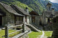 Foroglio in the Val Bavona