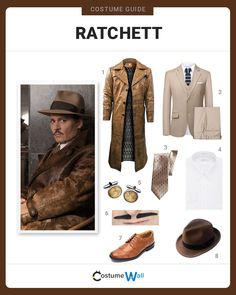 Cosplay the evil Edward Ratchett, played by Johnny Depp, in the 2017 movie Murder on the Orient Express. Got Costumes, Dress Up Costumes, Halloween Costume Puns, Express Fashion, Vintage Outfits, Vintage Fashion, Johnny Depp Movies, Orient Express, Mystery