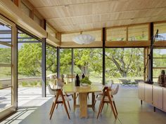 Feldman Architecture - the Caterpillar House, near Carmel, California.