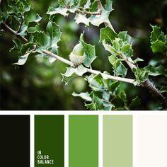 color verde, color verde hoja, colores de la bellota joven, de color verde…