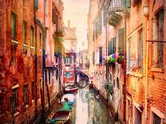 """I don't think there are actually 1,000 bridges in Venice, but there might be! There must be at least 500, and every one of them is quite unique in its own way. I think even the most hardcore photographer at some point puts on blinders… and you cross yet another bridge and you say to himself, """"Yet another bridge,"""" and you don't take a photo. - Venice, Italy - Photo from #treyratcliff Trey Ratcliff at http://www.StuckInCustoms.com"""