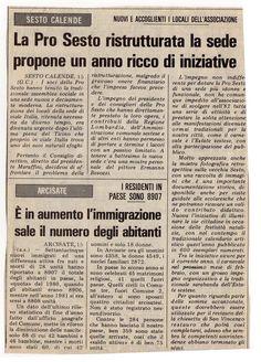 1982  Giornale La Prealpina Varese