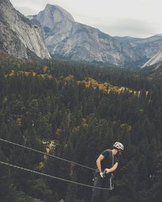 Rapping a route in Yosemite Valley   See this Instagram photo by @honestmag • 40 likes