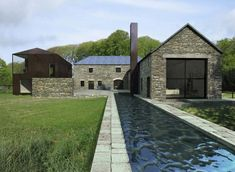 Tourin Barns renovation in Ireland by James Gorst Architects