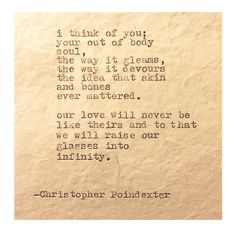 The Universe and Her, and I #294 written by Christopher Poindexter