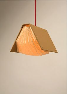Origami light #accordion #booklight