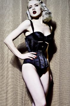 Mosh in Fetish Style #Corset ( Get your goth on with gothic punk clothing - a favorite repin of www.vipfashionaustralia.com )