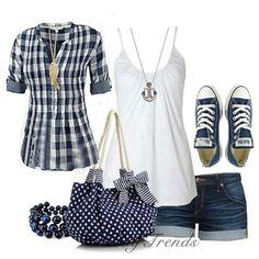 Cute simple summer look