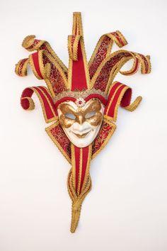 """Купить Венецианская интерьерная маска """"Бордо"""" в интернет магазине на Ярмарке Мастеров"""
