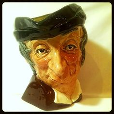 Simple Simon Character Jug/ Toby Jug Royal Doulton England D6374 Large 1953- 1960 from The Gryphon's Nest on Ruby Lane