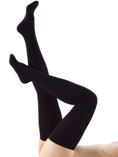 Cotton Solid Thigh-High Sock | Shop American Apparel ($1-20) - Svpply
