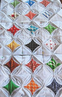 Cathedral Window Pane Quilt