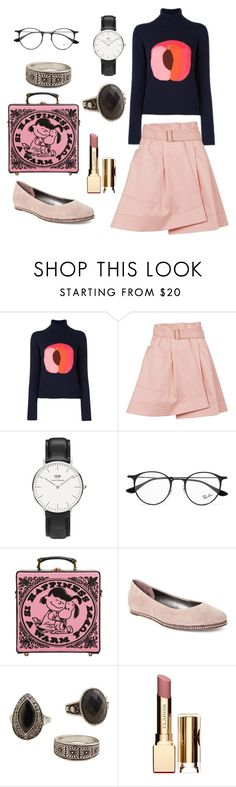 """Untitled #382"" by maritabirken ❤ liked on Polyvore featuring Paul Smith, Balenciaga, Daniel Wellington, Ray-Ban, Olympia Le-Tan, Donald J Pliner, MANGO and Clarins"