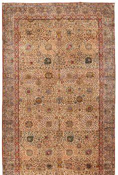 Antique Kerman Carpet