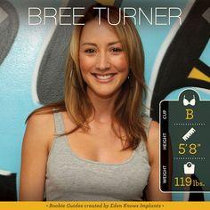 Breast Implant Inspiration: Bree Turner + Photos!