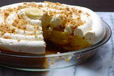 Gluten Free Dulce de Leche Banana Cream Pie