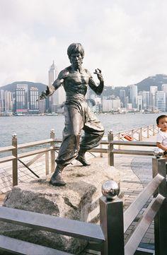 Bruce Lee Statue, Kowloon, HK