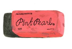 Eraser: Pink Pearl - original