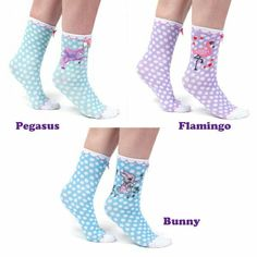 18247ff18fec8 Irregular Choice SOCKADELIC Ankle Socks Polka Dot Gift Women Girls UK 4-7  IC119 #