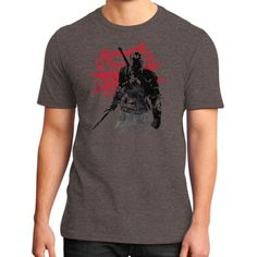 The Witcher Sumi District T-Shirt (on man)