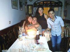 Cena con compleanno, con gli amici del nostro Chef Renso