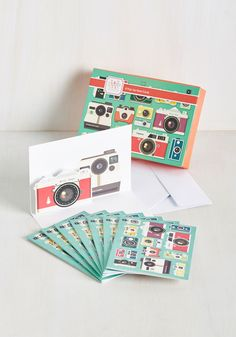 Point and Shoot the Breeze Notecard Set. Its a blast when you flash a note off to someone on one of these camera-printed notecards!…