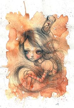 2012 drawings by Ania Tomicka, via Behance