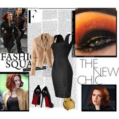 """Black Widow"" by myra-bexx-draven on Polyvore"