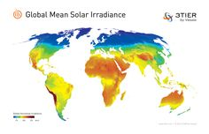 Vector world map with countries world map with all countries mean solar irradiance worldwide where should we build solar power plants africa hands down gumiabroncs Gallery