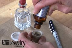 Make Your Own Oil Paste for Metal Clay   Art Jewelry Magazine