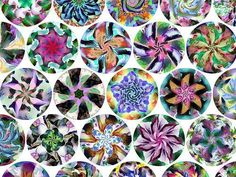 Kaleidoscopic Puzzle Art