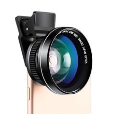 DDJ Fisheye Lens Kit with 0.58×Super Wide Angle Lens+12.5×Super Macro Lens for iPhone 4/4s/5/5s/6/6s, Galaxy(Black). NO DISTORTION: 0.58×Supper Wide Angle Lens figures out the distortion problem, which is the historic breakthrough of the phones' wide-angle lens;. SHARPER IMAGES: With cutting professional lens and grinding precision lens, the images could be much sharper, letting you become profession from amateurs;. MRC PROFESSIONAL AITIREFLECTION COATING TECHNOLOGY: Based on it, the...