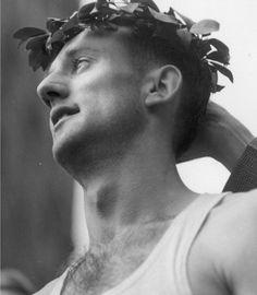 John A. Kelley, winner of the Boston Marathon in 1935.